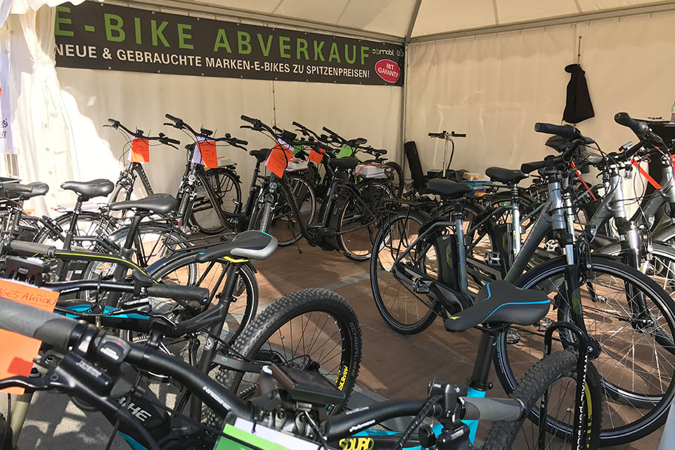 oemobil E-Bike Showroom